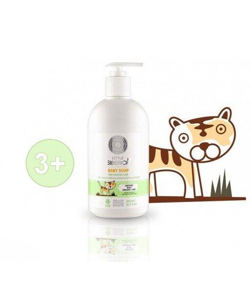 Little Siberica - organiczne mydło w płynie dla dzieci - codzienna pielęgnacja - organiczny ekstrakt szałwii, ekstrakt brzozy,