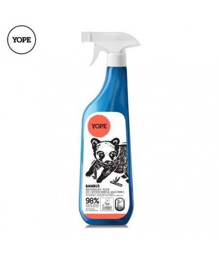 Naturalny płyn do czyszczenia łazienki - BAMBUS, 750ml - YOPE