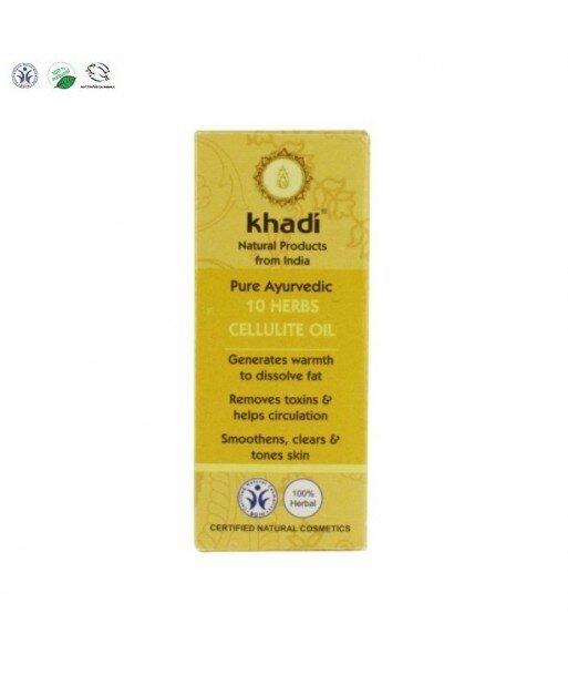 Antycellulitowy olejek z 10 ajurwedyjskich ziół Khadi 10 ml