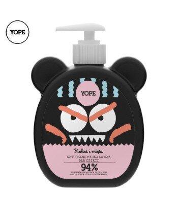 Mydło dla dzieci Kokos i Mięta, 400 ml - YOPE