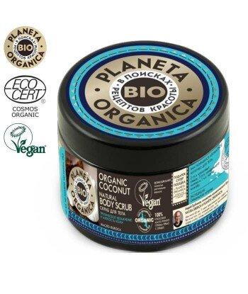 PO Organic Coconut Naturalny Scrub do ciała, 300ml