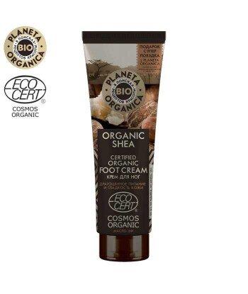 PO Organic Shea Krem do stóp - Głębokie odżywienie i gładkość, 75ml