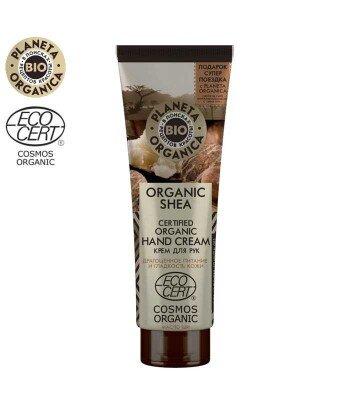 PO Organic Shea Krem do rąk - Głębokie odżywienie i gładkość, 75ml