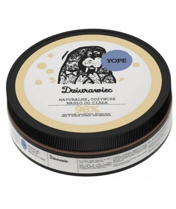 Naturalne masło do ciała odżywcze Dziurawiec 200ml - YOPE