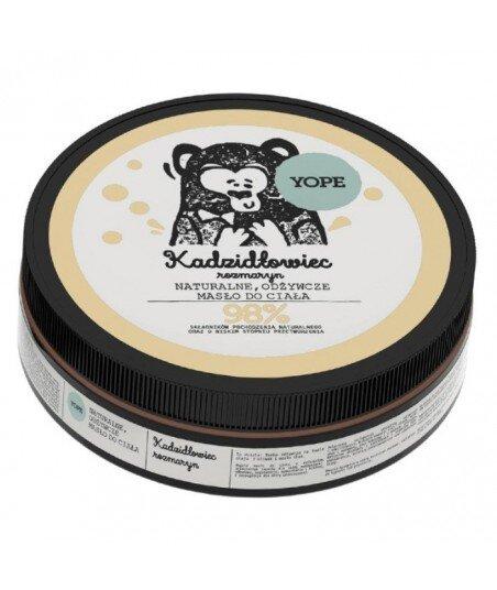 Naturalne masło do ciała odżywcze Kadzidłowiec i Rozmaryn 200ml - YOPE
