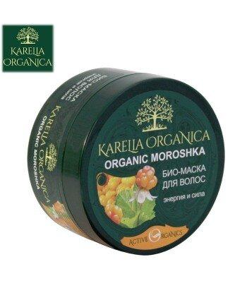 BIO MASKA DO WŁOSÓW ORGANIC MOROSHKA energia i siła dla wszystkich typów włosów , 220ml - KARELIA ORGANICA