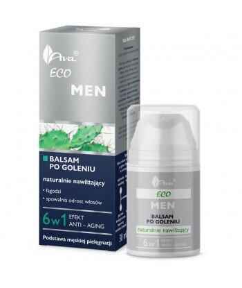 Eco Men balsam po goleniu naturalnie nawilżający dla mężczyzn 50ml - AVA