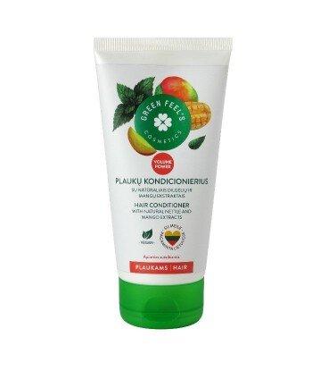 Zwiększająca objętość odżywka-maska z ekstraktem z mango i pokrzywy 150ml, GREEN FEEL'S