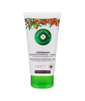 Regenerująca odżywka- maska do włosów z naturalnym olejem rokitnika 150 ml, GREEN FEEL'S