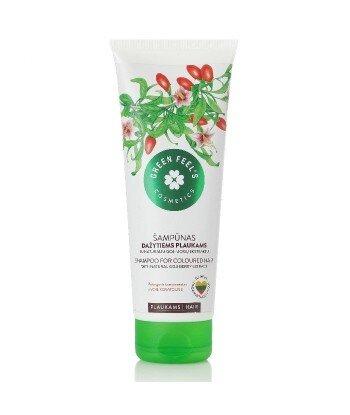 Odżywka-maska z naturalnym ekstarktem z jagód Goji do włosów farbowanych i zniszczonych 150ml, GREEN FEEL'S