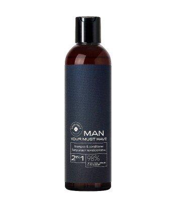 MAN szampon i balsam do włosów 2in1 your must have 250ml GREEN FEEL'S