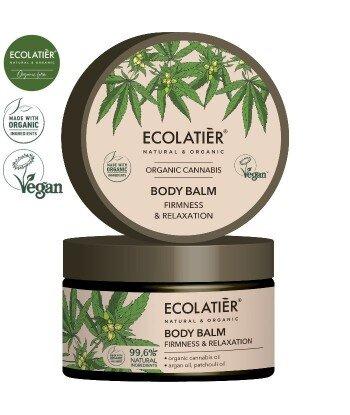 CANNABIS Balsam do ciała JĘDRNOŚĆ I RELAKS, 250 ml ECOLATIER