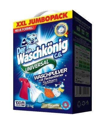 Universal proszek do prania 7,5 kg - 100 WL- Der Waschkönig C.G.