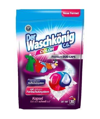 Color DUOCAPS kapsułki do prania 30 sztuk - Der Waschkönig C.G.