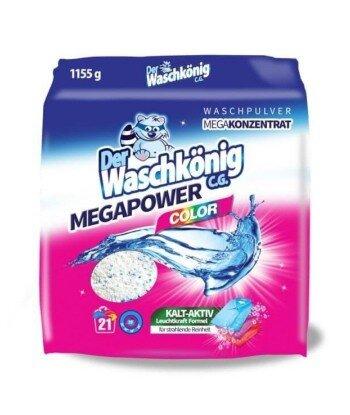 MegaPower Color proszek do prania 1155 g - 21 WL - Der Waschkönig C.G.