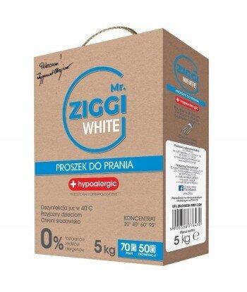 Mr. ZIGGI hipoalergiczny proszek do prania tkanin białych 5 kg