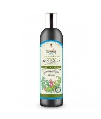 Tradycyjny syberyjski balsam do włosów No 2 na brzozowym propolisie - regenerujący, 550ml