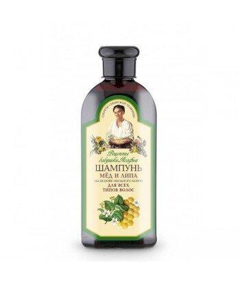 RBA - szampon miód i lipa - dla wszystkich typów włosów - mydlnica lekarska, miód, lipa, 350 ml
