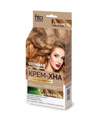 Kremowa-henna indyjska gotowa Karmel, 50ml Fitokosmetik