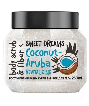 Odbudowujący scrub do ciała Kokos - Aruba, 250 ml BISOU
