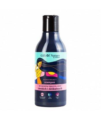 Wzmacniający szampon do włosów cienkich i delikatnych, 300 ml
