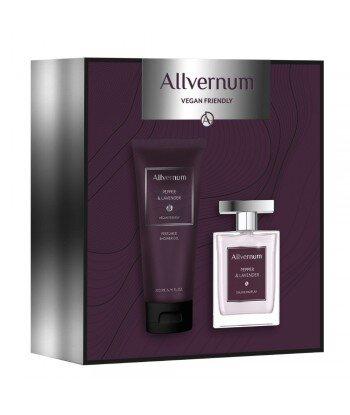 Allvernum Men Zestaw prezentowy Pepper&Lavender woda perfumowana 100ml i żel pod prysznic 200ml