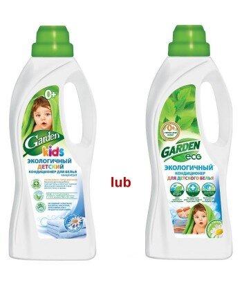 Ekologiczny skoncentrowany płyn do płukania dla niemowląt z ekstr. Rumianku GARDEN - 1000ml