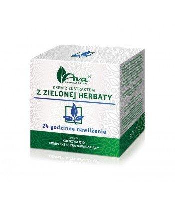 Krem z ekstraktem z zielonej herbaty - 24 godzinne nawilżenie 50ml - AVA