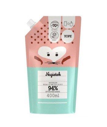 Mydło dla dzieci Nagietek, REFILL 400 ml - YOPE