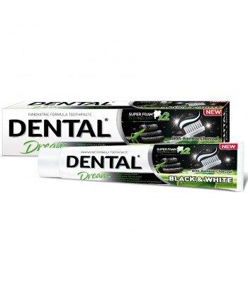 DENTAL Black & White wybielająca pasta do zębów 100 ml