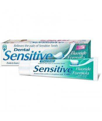 DENTAL Sensitive Pasta do zębów wrażliwych z fluorem,100ml