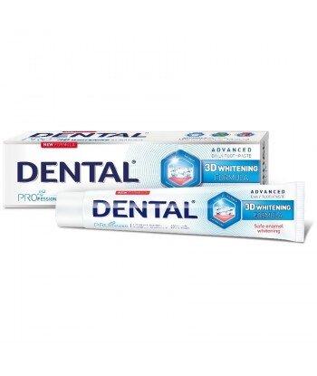 DENTAL PRO 3D Wybielająca pasta do zębów, 75 ml