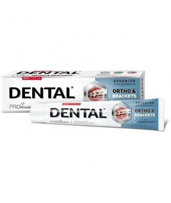 DENTAL PRO Pasta dla osób z aparatami ortodontycznymi, 75 ml