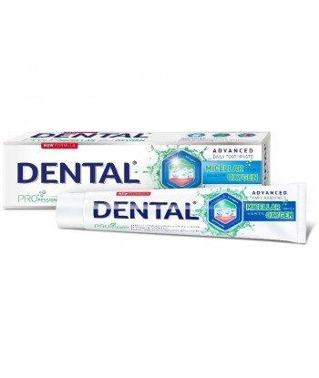 DENTAL PRO Pasta do zębów micelarna formuła z Aktywnym Tlenem 75 ml
