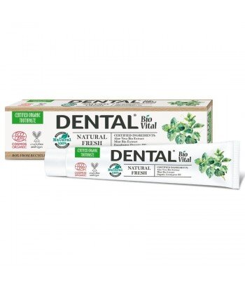 DENTAL BIO VITAL Pasta do zębów Odświeżająca, 75 ml