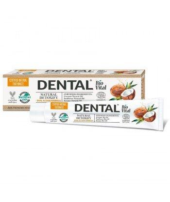 DENTAL BIO VITAL Pasta do zębów Detoksykująca, 75 ml