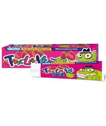 DENTAL Tra-la-la Pasta do zębów dla dzieci o smaku truskawki, 50ml