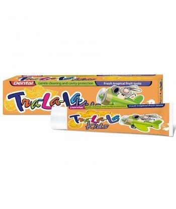 DENTAL Tra-la-la pasta do zębów dla dziecii o smaku tropikalnych owoców, 50ml