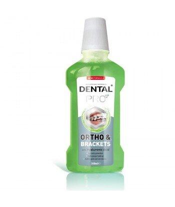 DENTAL PRO ORTO Płyn do płukania dla osób z aparatami ortodontycznymi, 500 ml