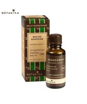 Naturalny 100% Kosmetyczny olej Konopny, 50ml - BOTANIKA