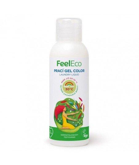 Żel do Prania Kolorowych i Ciemnych Tkanin, Feel Eco, 100ml