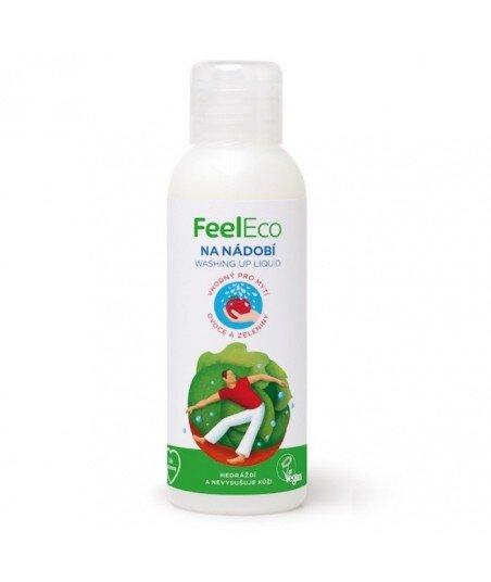 Płyn do mycia naczyń, owoców i warzyw, Feel Eco, 100ml