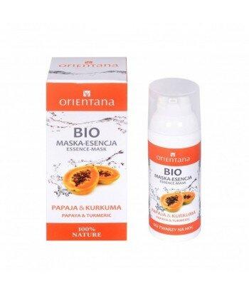Orientana BIO maska-esencja - Papaja i kurkuma 50 ml
