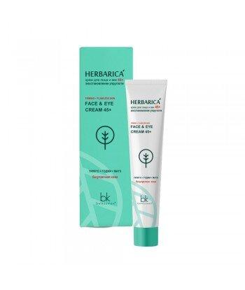 Krem do twarzy i powiek 45+ przywracający elastyczność Herbarica, 40g, Belkosmex