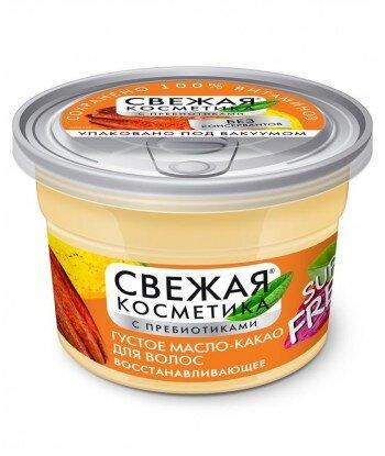 Gęsty olej-kakao do włosów Rewitalizujący z serii Fresh Cosmetics, 180ml - Fitokosmetik