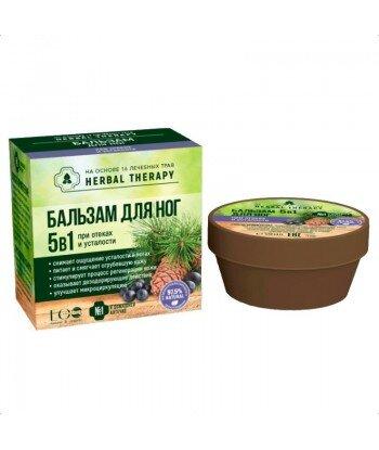 Balsam do stóp 5 w 1 na bazie 16 ziół leczniczych, nawilża i zmiękcza, 50 ml
