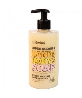 Mydło w płynie do rąk SUPER MARULA, 450 ml - CAFE MIMI