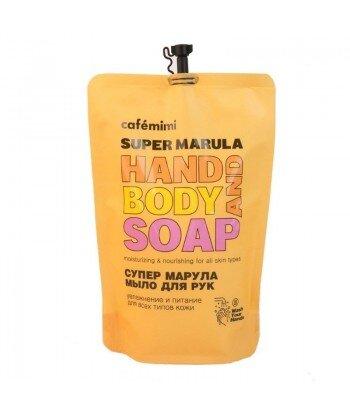 Mydło w płynie do rąk SUPER MARULA, (DOYPACK) 450 ml - CAFE MIMI