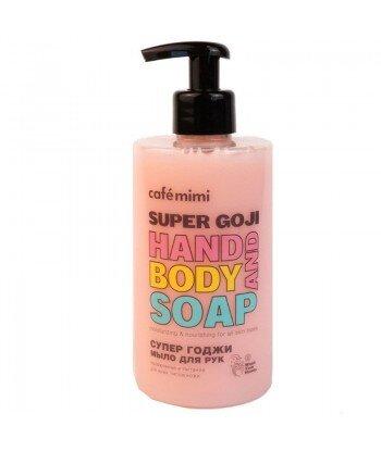 Mydło w płynie do rąk SUPER GOJI, 450 ml - CAFE MIMI