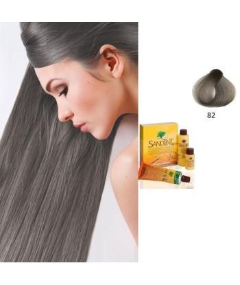 Farba do włosów JASNO SZARY 82 Sensitive Sanotint